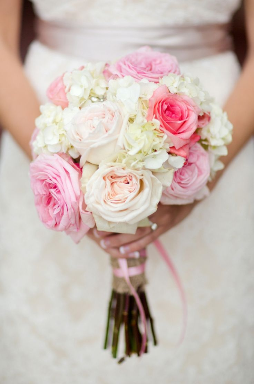 Hydrangea pink wedding